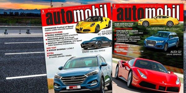Roční předplatné měsíčníku Automobil Revue