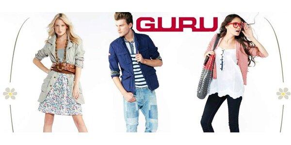 399 Kč za oblečení a doplňky luxusní italské značky Guru!