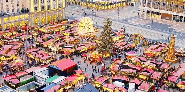 Na adventní trhy do Drážďan