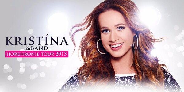 Kristína & Band Horehronie tour 2015