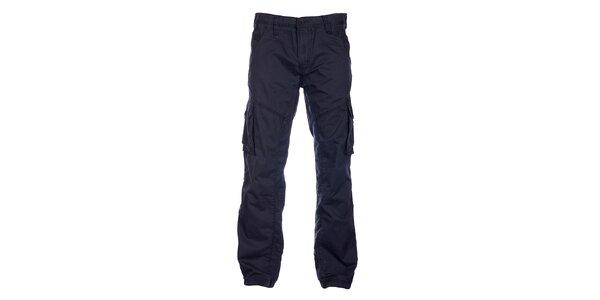Pánské černé sportovní kalhoty Loap