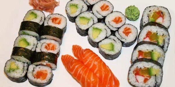 Báječné a lahodné sushi v Jiu Zhou