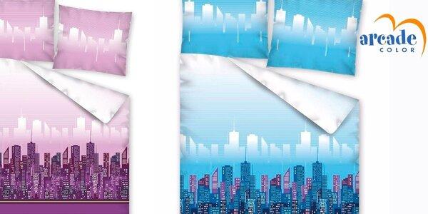 Spánek s nádechem velkoměsta v ložních soupravách Arcade Color®