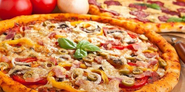 2 pizzy z italských ingrediencí v centru Prahy