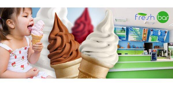 Dvě velké točené zmrzliny jen za 19 Kč!
