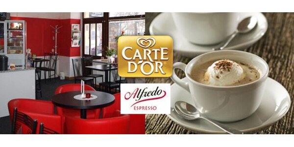 55 Kč za DVĚ ledová cappuccina s vanilkovou zmrzlinou v Prostějově