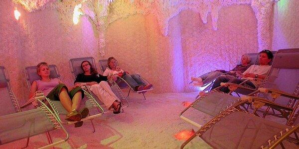Elixír zdraví z Mrtvého moře v solné jeskyni