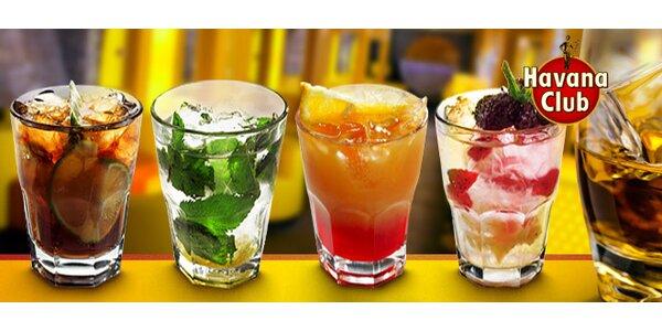 Jakékoli drinky v baru Havana Club