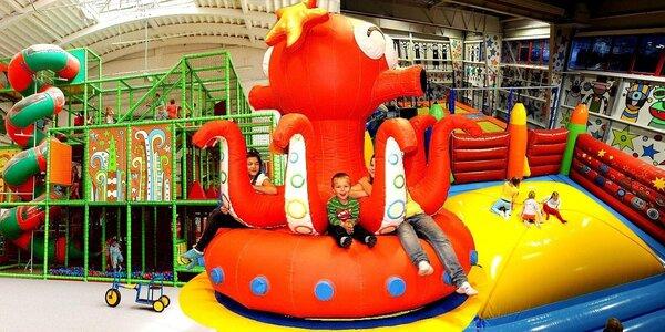 Vstup na všední den pro dospělý doprovod do zábavního parku