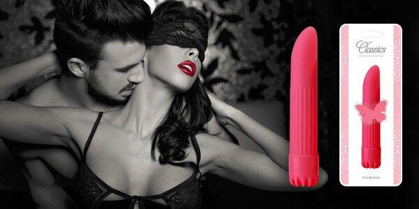 Vodotěsný vibrátor pro hravé dámy i páry