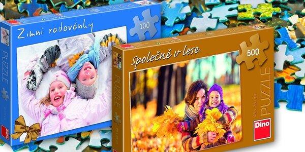 Fotopuzzle z vaší oblíbené fotky od Dino Toys