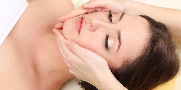 Kosmetická péče o pleť včetně masáže
