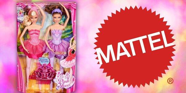 Sada 2 postaviček Barbie a Kouzelné balerínky