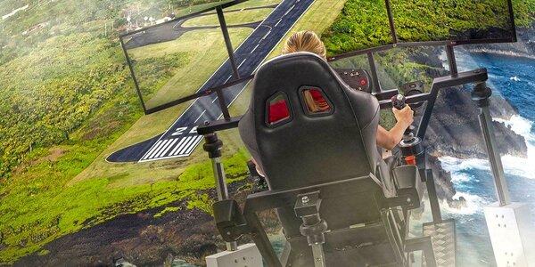 Zážitek na plně pohyblivém simulátoru vrtulníku