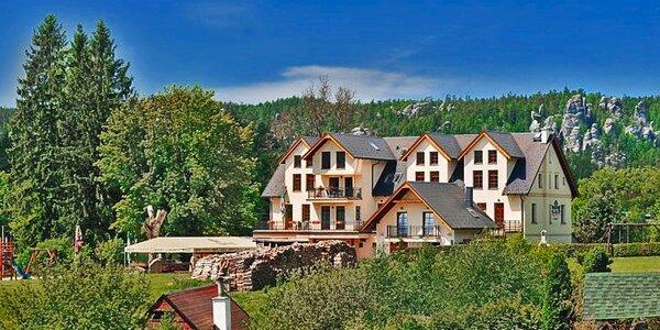 Podzimní nebo zimní pobyt v Adršpachu pro dva