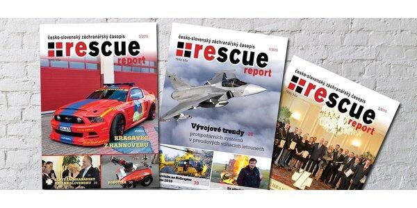 Časopis RESCUE report pro hasiče a záchranáře