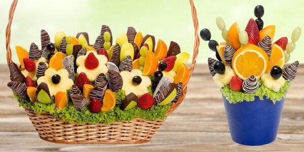 Buďte originální a darujte kytici z ovoce