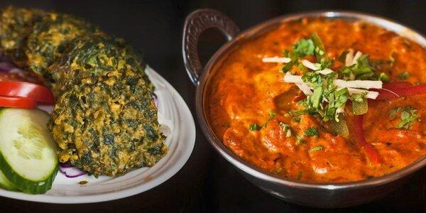 50% sleva na jídlo v indických restauracích Masala