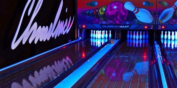 Hodina hry a občerstvení v Bowling Baru Chmelnice