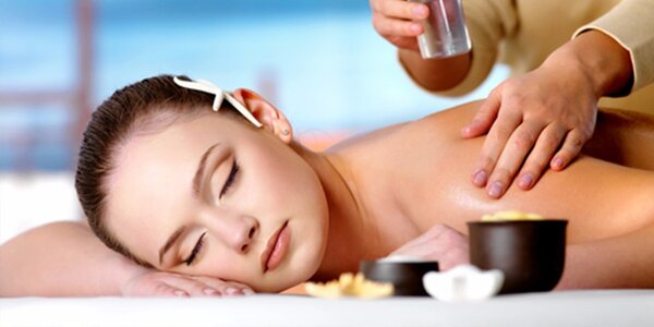 Olejová masáž celého těla v délce 120 minut