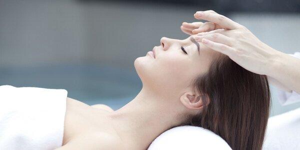 Kosmetické ošetření 2 v 1 – čištění pleti a relaxační masáž
