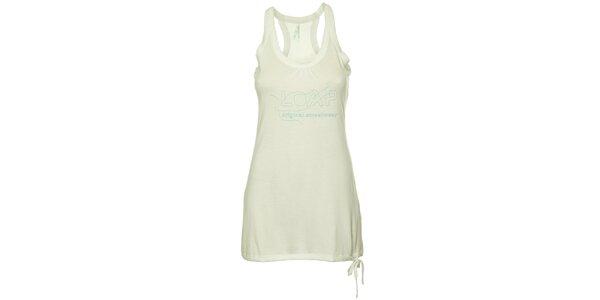 Dámské bílé tílkové šaty Loap