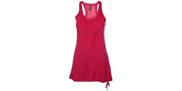 Dámské sytě růžové tílkové šaty Loap