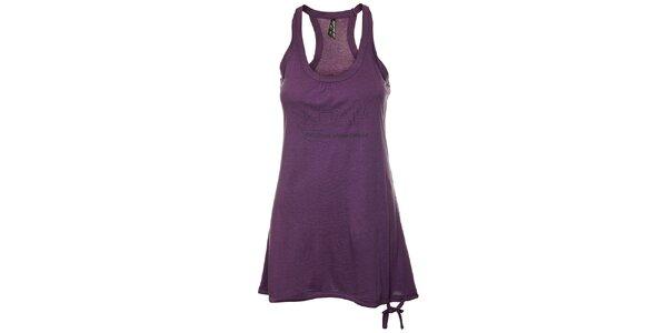 Dámské fialové tílkové šaty Loap