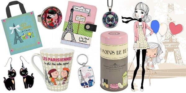 Francouzské módní doplňky v hodnotě 1000 Kč