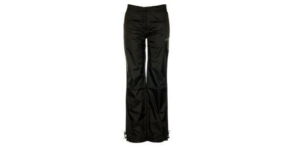 Dámské černé šusťákové kalhoty Loap s podšívkou