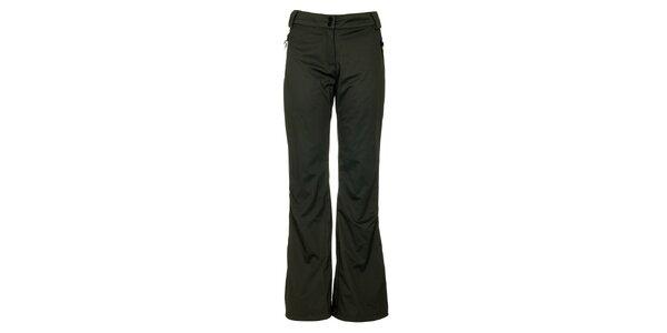 Dámské šedé softshellové kalhoty Loap