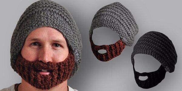 Pletená čepice Beardo