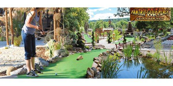 Vstup pro 2 na adventure golf v Plasích