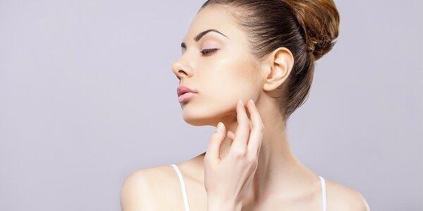 Čištění ultrazvukovou špachtlí + luxusní liftingová masáž