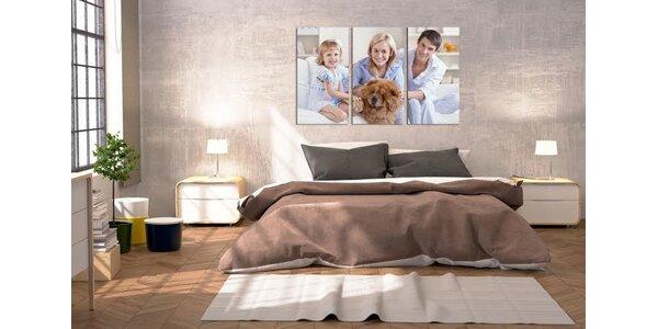 Třídílné obrazy na plátně od XL foto