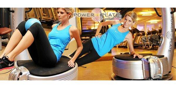Efektivní cvičení na Power Plate s osobní trenérkou