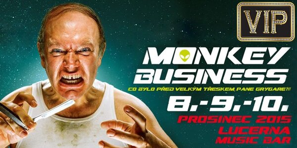 Vstupenka na koncert Monkey Business