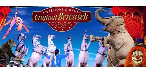 Cirkus Berousek v Prostějově: 8.-10. května