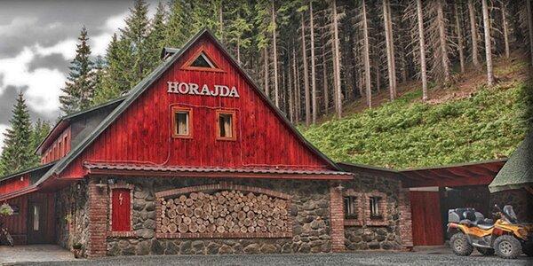 Pohoda na horské chatě Horajda v Krkonoších