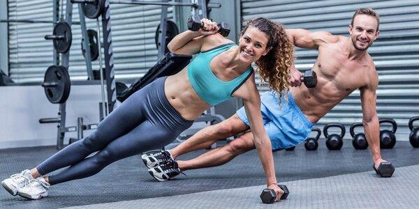 Permanentka na cvičení v Extrifit Gym fitness