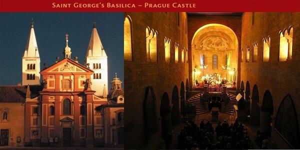 Vánoční koncert v bazilice sv. Jiří na Pražském hradě