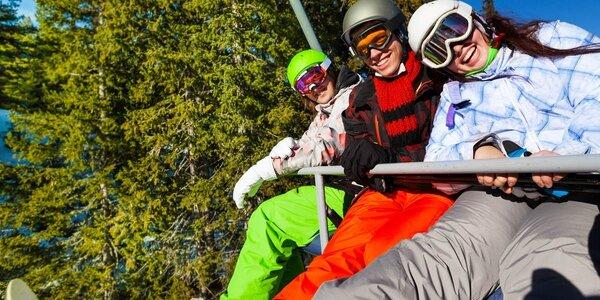 Lyžování, relax i polopenze v Krušných horách