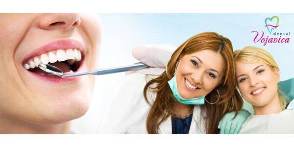 Dentální hygiena s ultrazvukovým čištěním zubů