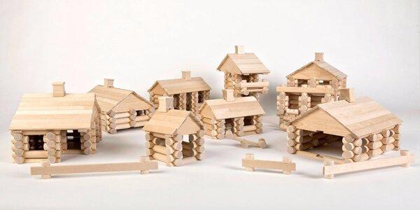 Dřevěné dětské stavebnice Varis