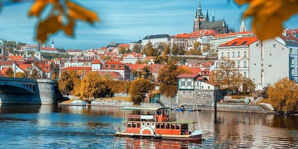 Vyhlídková plavba centrem Prahy