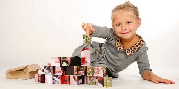 Dětské kostky s fotopotiskem v dárkové krabičce