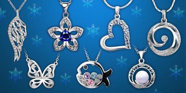 Velký výběr šperků s krystaly Swarovski