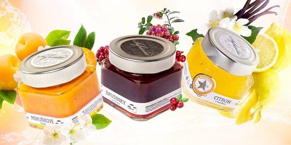 Vynikající set nevšedních bio marmelád