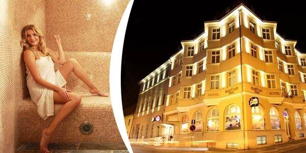 Víkendový wellness pobyt v 4* hotelu pro dva