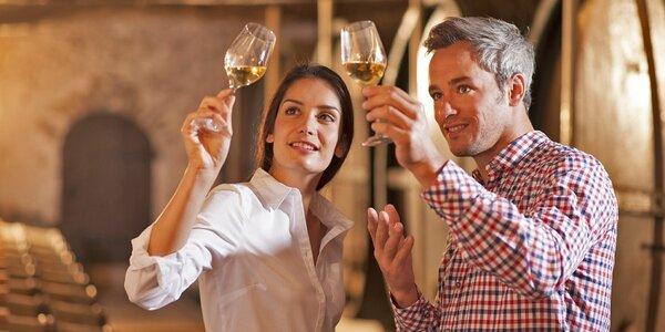 Pobyt s degustací vína a výrobou Cuvée